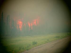 Highway 3 fire