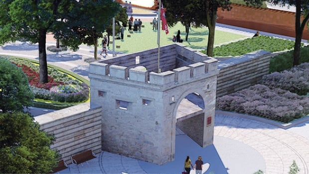 Visitors to the new park will enter through the original Upper Fort Garry gate, the same one used by residents of the fort and surrounding Red River settlement.