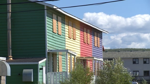 Homes boarded up in Inuvik, N.W.T. The cost of a home there has dropped 10 to 15 per cent in the past few years, with more sellers than buyers, says Coldwell Banker realtor Jim Weller.