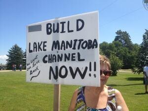 Manitoba farmers protest