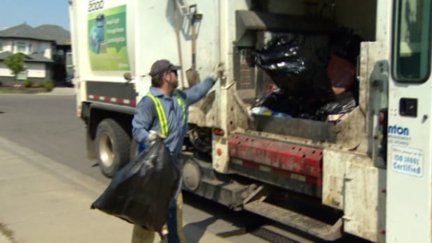 Garbage collectors can get injured from hauling overweight trash bags.
