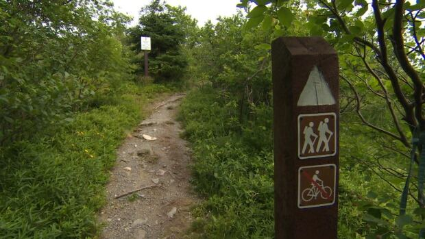 The East Coast Trail Association said it can't endorse the use of mountain bikes because hiking and biking on a single-track coastal trail poses serious safety issues for both pedestrians and riders.
