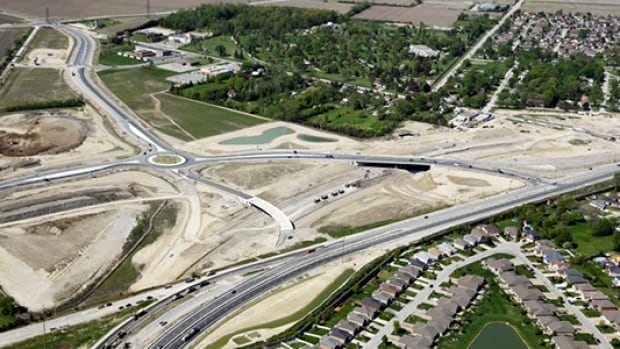 People who run businesses and live near the new, large roundabout at the Howard Avenue diversion and Highway 3 say it's causing problems for truckers and for tourists.