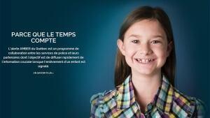 Quebec Amber Alert app