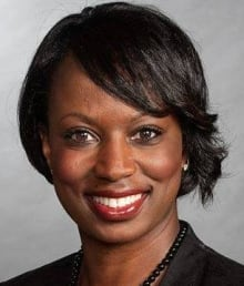 Celina Caesar-Chavannes  - Liberal byelection candidate in Whitby - Oshawa