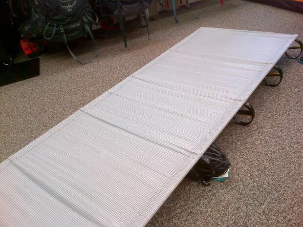 Camping cot