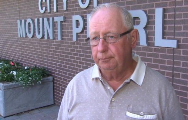 Mount Pearl Mayor Randy Simms