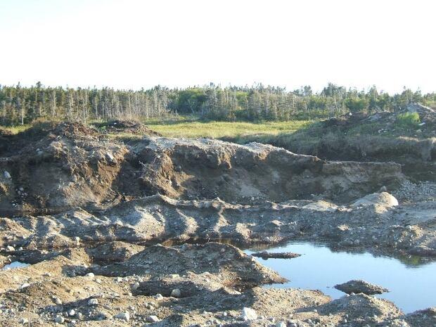 Deadman's Bay quarry