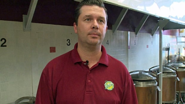 David Smith of Jake's Windsor Brew Factory Inc. says his brewery has tried to cut back on its overall water use.