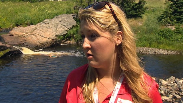 Danika Crossman says personal flotation devices can be loaned from the Red Cross for up to two weeks.