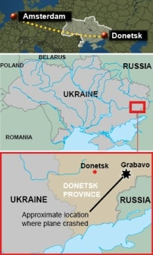 Ukraine-MH17-crash