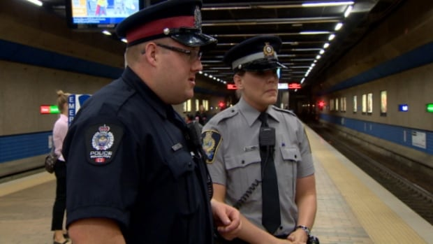 Police are teaming up with transit peace officers to patrol Edmonton's LRT system.