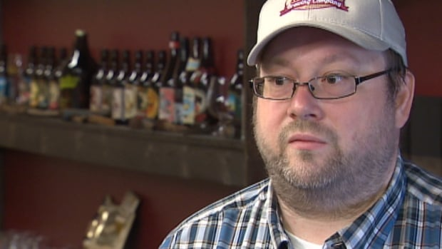 Mitch Biggar received a letter this week from NB Liquor saying he must sell 10,000 litres of brew through their stores before selling his beer in the province.