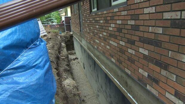 Many basements needed repair work following heavy rain in June.