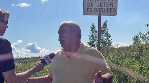 Sudbury mayoral candidate Dan Melanson says he believes citizens shouldn't have to pay to dump their trash at the city landfill.