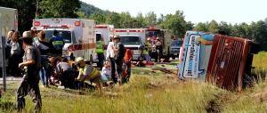 North Hudson crash