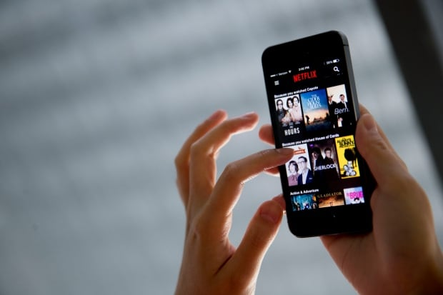 NETFLIX SMARTPHONE APP STREAMING DOWNLOAD