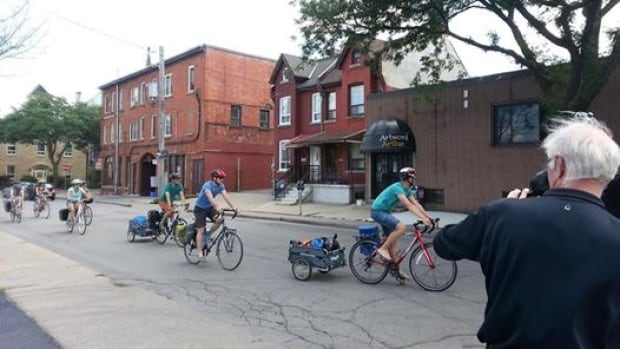 The Bicycle Opera Project invades Hamilton, Ont. The young company is debunking the myth of the opera diva, and making an environmental statement along the way.