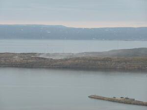 Iqaluit's dump fire