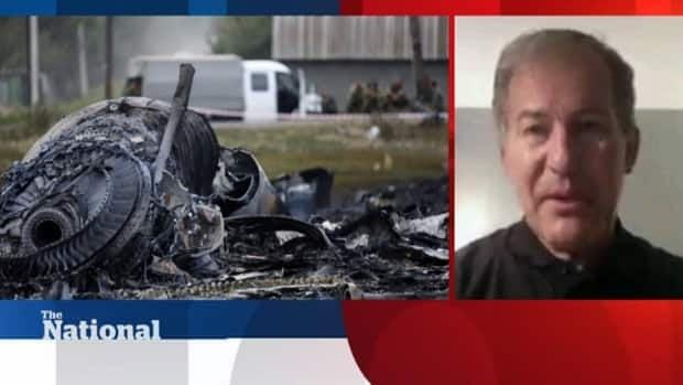 Canadian observer at MH17 crash site