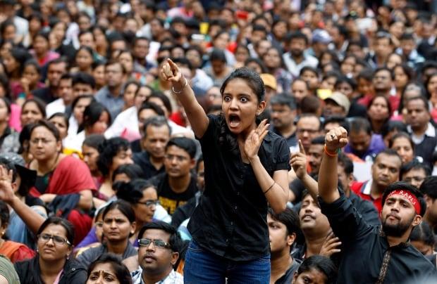 APTOPIX India Rape Protest