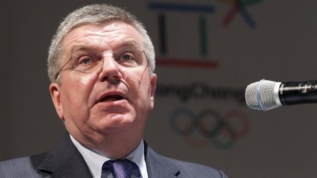 Thomas Bach is the current president of the International Olympic Committee.