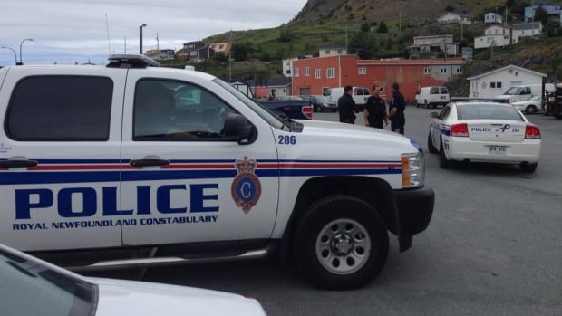Police and first responders were are the Portugal Cove ferry terminal Saturday afternoon, responding to a boat capsizing near the Bell Island Lighthouse.
