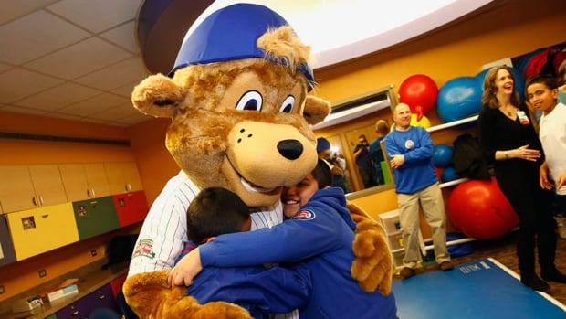 The Chicago Cubs unveiled Clark, their real mascot, earlier this year.
