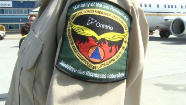 More than 100 Ontario firefighters arrived in Edmonton on Saturday to help battle the blazes ravaging areas across Alberta.