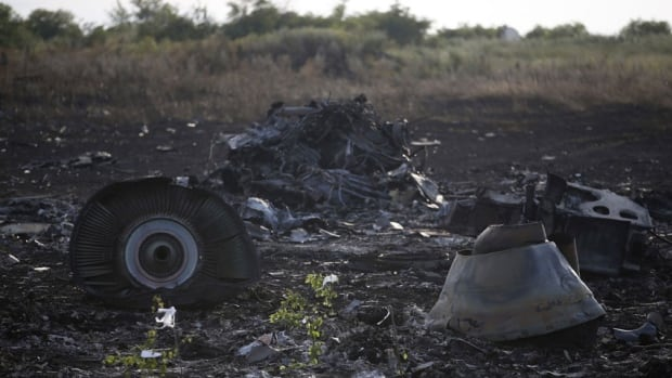 Ukraine accused Russia and pro-Moscow rebels on Saturday of destroying evidence to cover up their guilt in the shooting down of Malaysia Airlines Flight MH17.