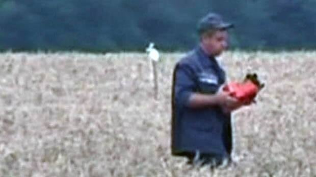 MH17 blackbox recovered RAW