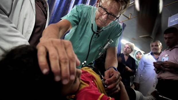 Gaza hospital straining under pressure of mounting casualties