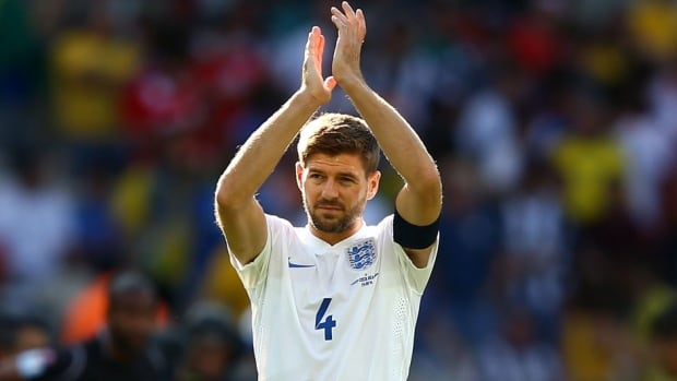 Steven Gerrard has made 114 appearances for England over the past 14 years.
