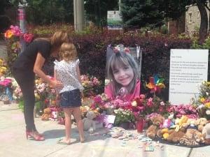 Georgia Walsh memorial