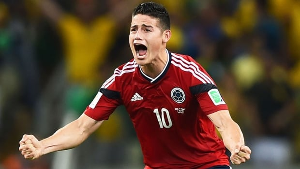 Colombia striker James Rodriguez had his coming out party after a brilliant performance at the 2014 FIFA World Cup.