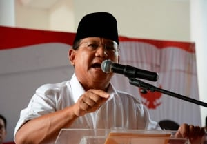 INDONESIA-ELECTIONS/PROBOWO