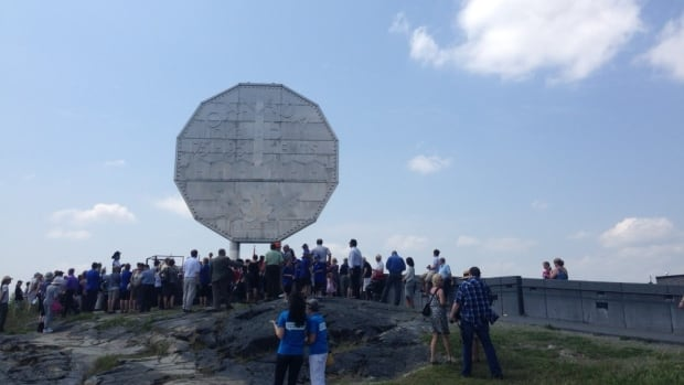 The Big Nickel, an icon in Sudbury, turned 50 on July 22. An all day party was held to celebrate.