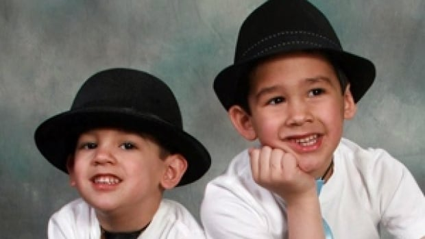 Brothers Noah, 4, and Connor Barthe, 6, were killed by an African rock python.