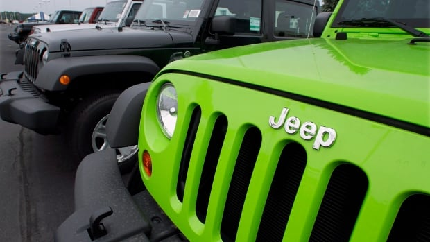 "Chrysler is recalling nearly 800,000 Jeep SUVs worldwide because the ignition switches could fall out of the ""run"" position, shutting off the engine and disabling air bags as well as power-assisted steering and braking."