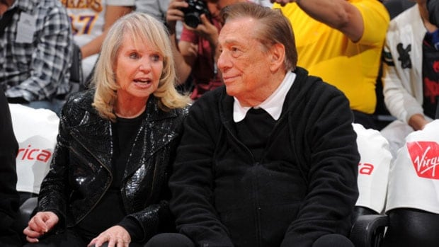 Los Angeles Clippers owner Donald Sterling, right, has filed a new lawsuit in his attempt to retain the team and derail a potential $2-billion US sale.