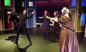 Reid Theatre production
