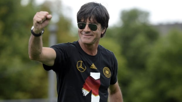 Joachim Loew guided the Germans to a World Cup title earlier this month.