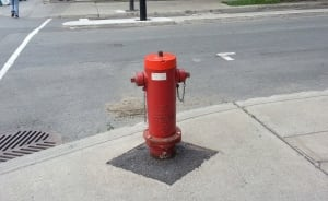 Fire hydrant Montreal