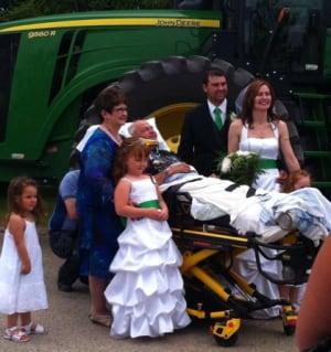 Bandura family at wedding