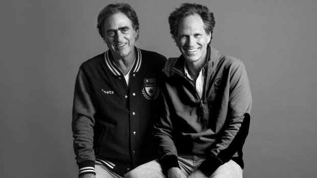Michael Budman and Don Green, co-founders of Roots, which has backed out of a deal with Parks Canada to make its casual wear.