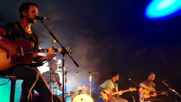The Trews performed on Wednesday night at Hospitality Days in Bathurst.