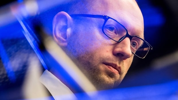 Ukrainian Prime Minister Arseniy Yatsenyuk announced his resignation on Thursday following turmoil in government. Yatsenyuk announced his resignnation after two parties said they would pull out of the governing coalition.