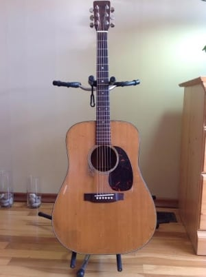 Sandy Morris' guitar