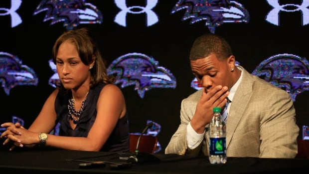 Baltimore Ravens running back Ray Rice was suspended by the NFL Thursday for domestic violence.