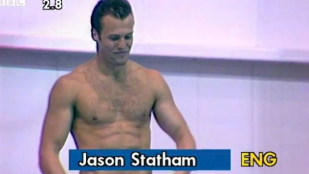 Before he was an action movie star, Jason Statham tried to make an international mark as a competitive diver.